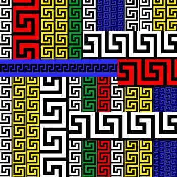 Colorful Roman Motifs