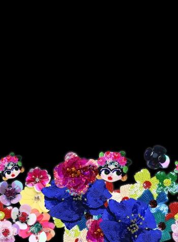 Shining Flowers And Frida