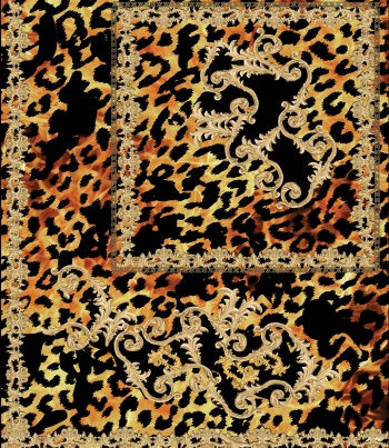 Baroque with Leopard Skin