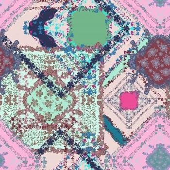 Flowery Pattern Clash