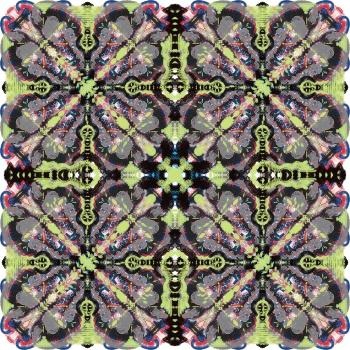 Contemporary Multi Layered Check Pattern