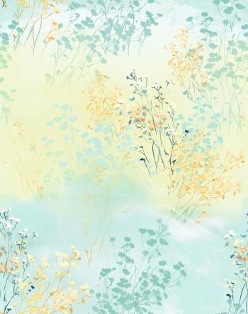 Bushes, wilderness, flowers