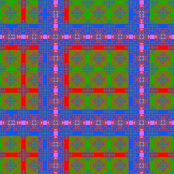 Illusion-Plaid