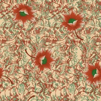 Seamless Pattern followers allover design