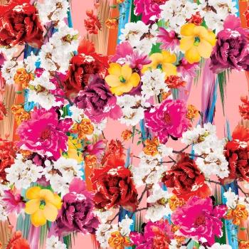 Flowers and Burshstrokes