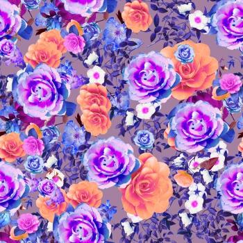 Bright Rose Garden