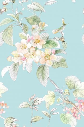 Flowers, birds