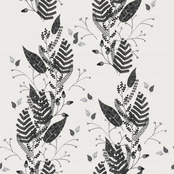 Stencil Leaves