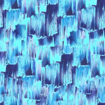 Blue Brush Art