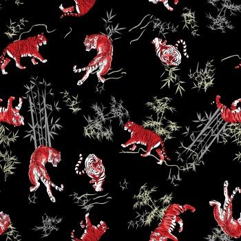 Tiger Print Pattern
