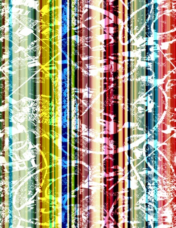 colorful abstract stripe pattern