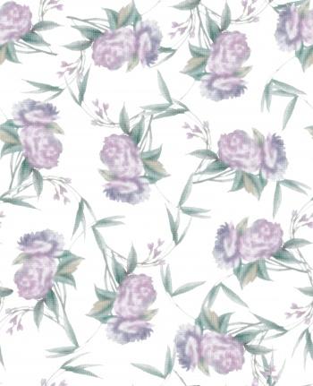 Blurry Flower Design.