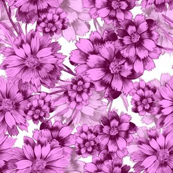 Purple Ditsy