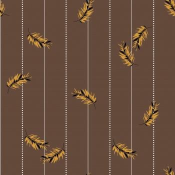 Stripe with leaf