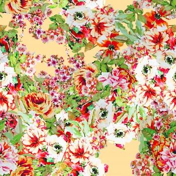 Floral Design-Multicolor