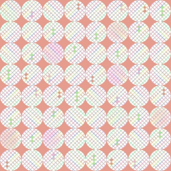 Circles geometric pattern pastel colors