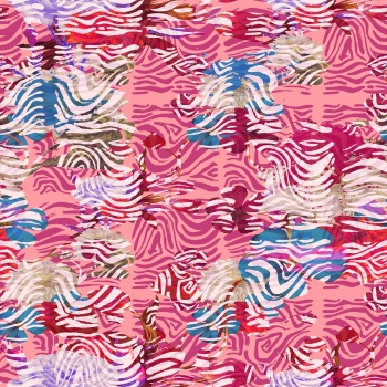 Hidden Flowers amd Wavy Stripes