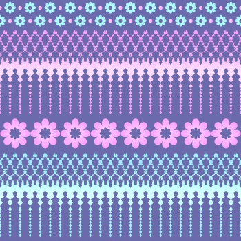 Abstract pattern - stripes vector paattern