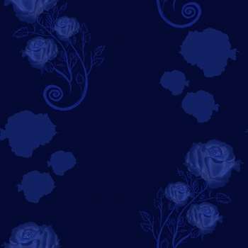 "Pattern ""Night roses"""