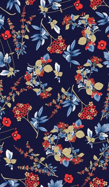 leaf and Floral pattern