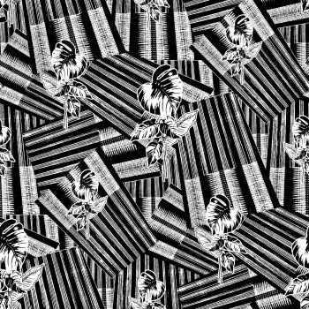 Monochrome strip