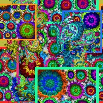 Colorful Granny Square