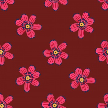Beautiful little red flower