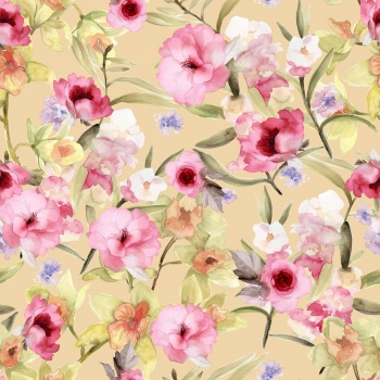 Delicate Pink Flora
