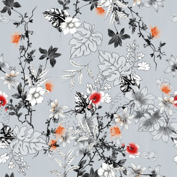 Flowers on Finestripes