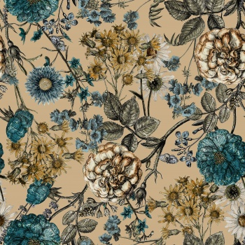 Floral Pattern '' Meadows''