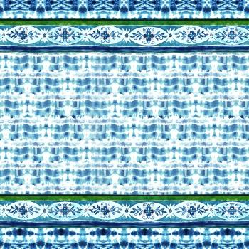 Blue Ethnic Tile