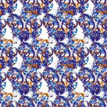 Navyblue Swirls