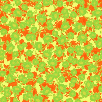 Orange and green Camouflage