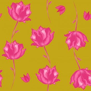Priya- Blooming floral pattern