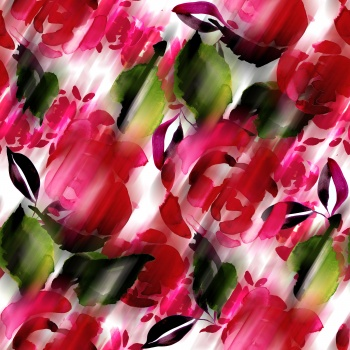 Blurred Floral- Roses