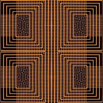Orange Illusion