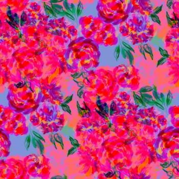 Crazy Color Flowers