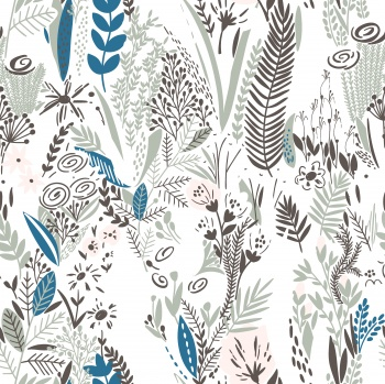 Illustrated Floral Pattern