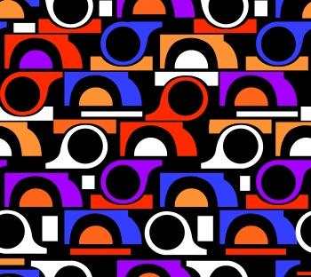 Colorful Retro