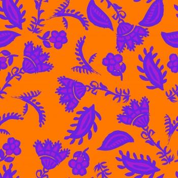 Purple Ethnic Blossom