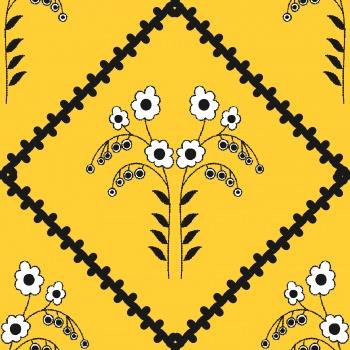 Floral pattern - patchwork