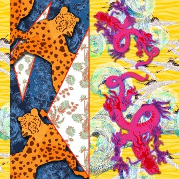 Pink Dragons