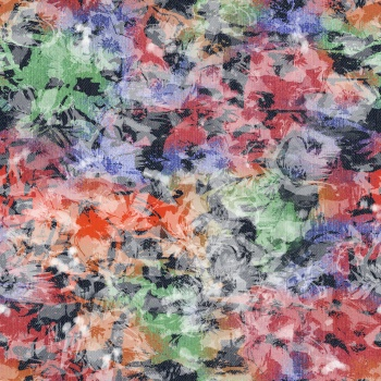 Dreaming Flowers on Denim