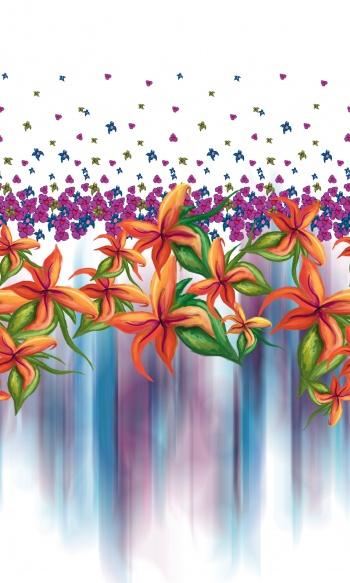 Lily Border