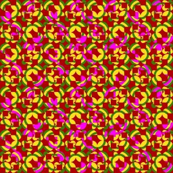 Bright Colored Retro