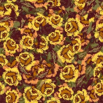 Digital Flowers_Yellow
