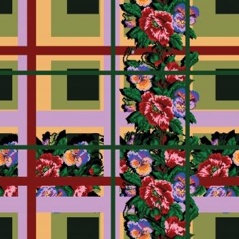 Floral-Plaid