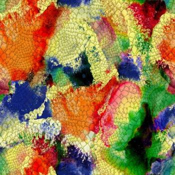 Colorful Snake Skin