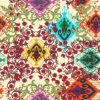 Ikats-Colorful