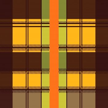 Orange Sharp Line